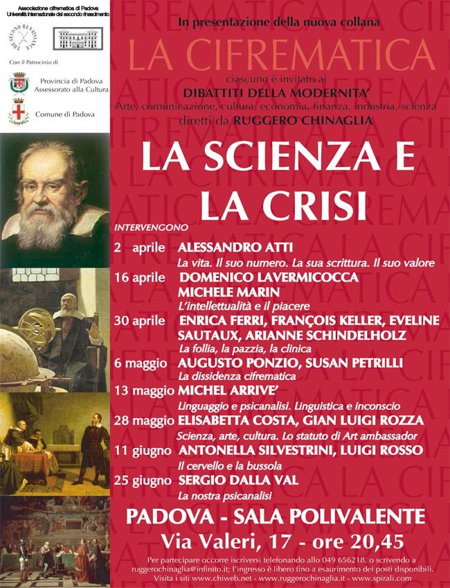 La scienza e la crisi calendario completo