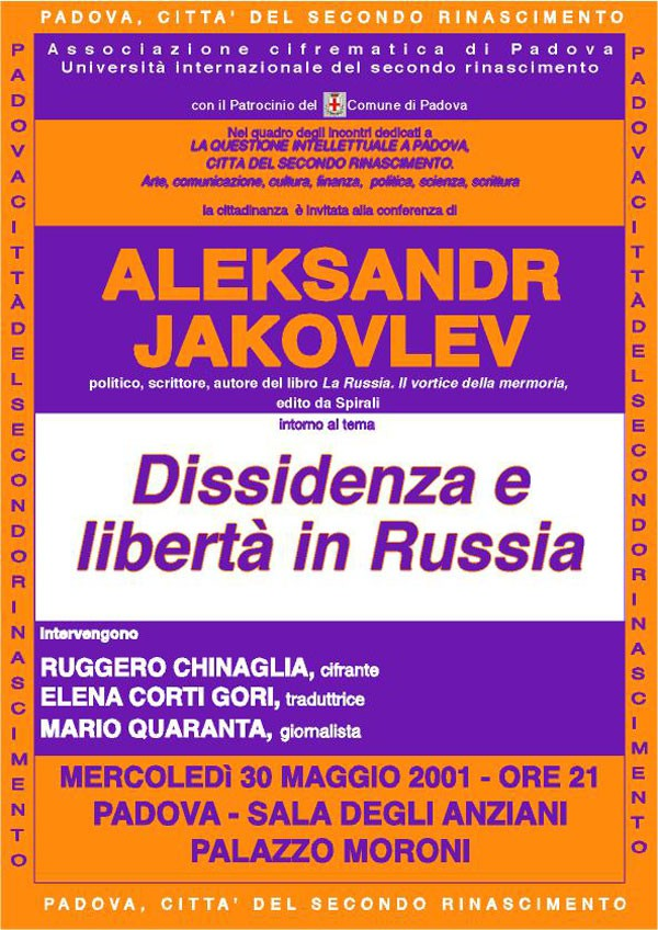 Dissidenza e libertà in Russia