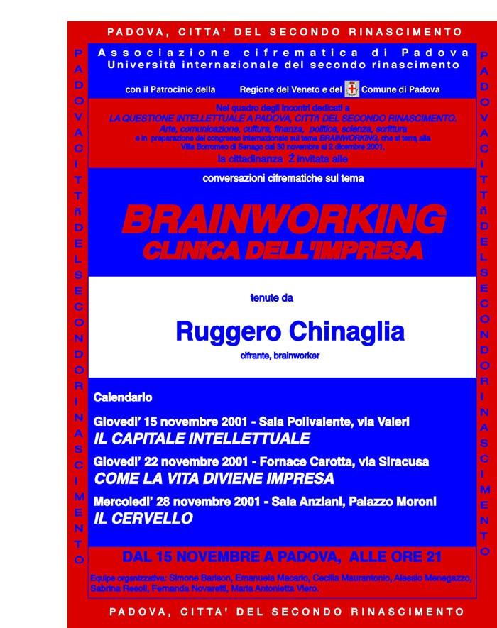 IL BRAINWORKING – CLINICA DELL'IMPRESA