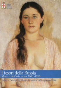 i tesori della Russia. maestri dell'arte russa 1800-1900